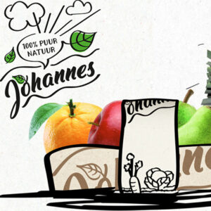 Duurzame verpakkingen AGF van het merk Johannes